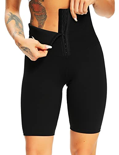 FITTOO Short Corps Shaper Femme Pantalon Contrôle du Ventre Taille Haute Amincissant...