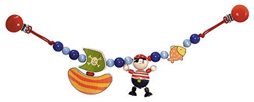 Hess Holzspielzeug Wagenkette Pirat