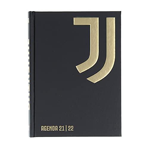 JUVE Juventus Agenda/Diario Scolastico - Collezione Scuola 2021/2022-100% Originale - 100% Prodotto Ufficiale - Dimensioni 18,5 x 13,5 cm - Copertina Rigida