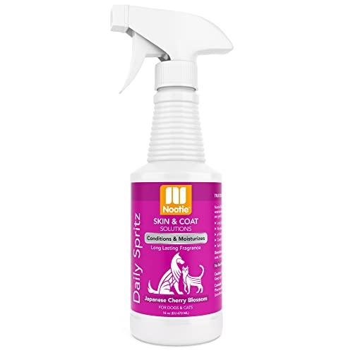 Nootie Daily Spritz Pet Conditioning Spray - Dog Conditioner for Sensitive Skin - Long Lasting Fragrance - No Parabens, Sulfates, Harsh Chemicals or Dyes - Revitalizes Dry Skin & Coat - Various Scents – Sold in Over 4,000 Pet Stores