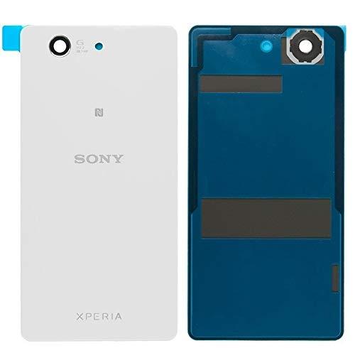 Original Akkudeckel Backcover Akku Abdeckung für Sony Xperia Z3 Compact (Mini) D5803 D5833 Weiß/Anleitung/Werkzeug