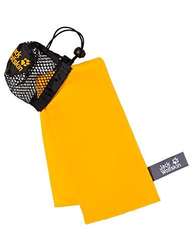 Jack Wolfskin Handtuch Wolftowel Light S, Burly Yellow, ONE SIZE