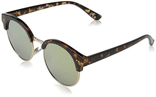 Vans Rays FOR Daze Sunglasses Gafas, Tortoise/Sunset Mirror Lens, Talla Única para Mujer