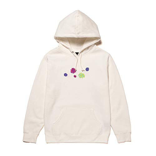 HUF, Sweat hood psycho daisies, Unbleached - S