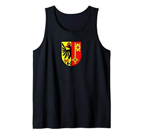Genf - Schweizer Stadt und Kantonswappen Tank Top