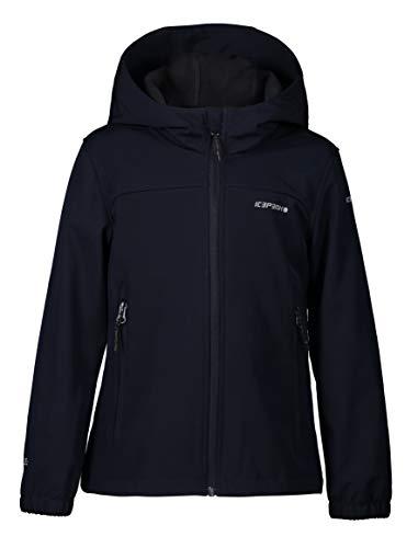 ICEPEAK Softshell-Jacke für mädchen. KOBRYN JR, dunkel blau, 140