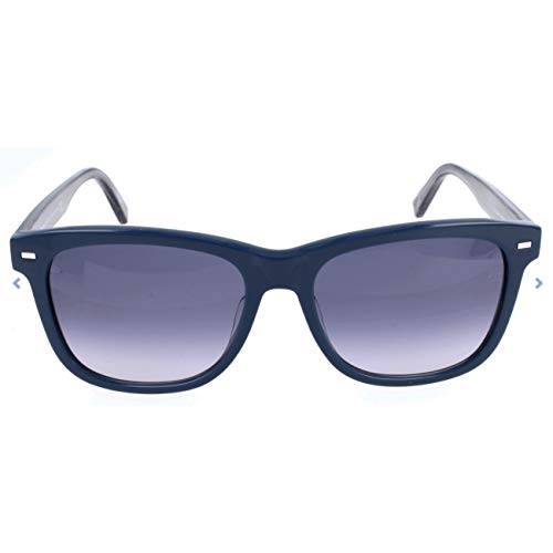 Ermenegildo Zegna Sonnenbrille EZ0028-F Gafas de sol, Azul (Blau), 56.0 para Hombre