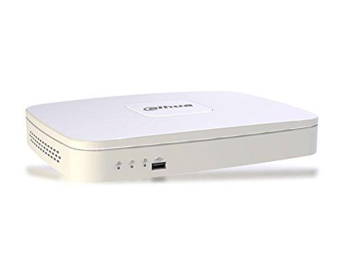 DAHUA NVR4104-4K-S2 NVR IP 4 canali 4K e H.265 uscite HDMI/VGA