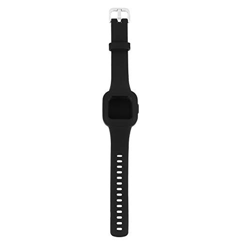 ibasenice Bandas de Reloj de Silicona Compatibles para Garminfit Jr 3 Niños Correas de Reloj de Repuesto