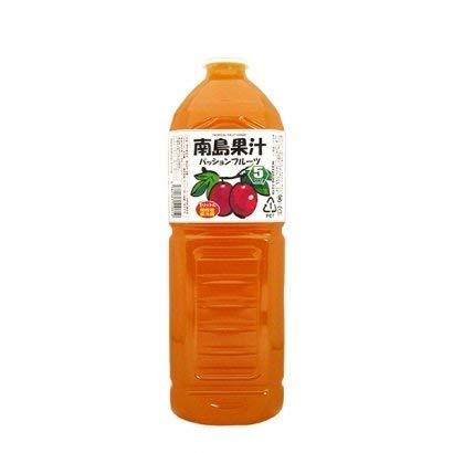 南島果汁 パッションフルーツ 1L×6本 PET