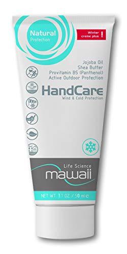 Mawaii WinterCare HandCare - intensiv pflegende Handcreme für Alpin- und Ausdauersport, Outoor-Sport, Kletterer und Boulderer, mit Wind-, Kälte- und Nässeschutz (1 x 50ml)