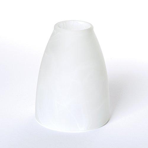 Glas Lampenschirm Ersatzglas für E14 Fassung Lochmaß 30 mm