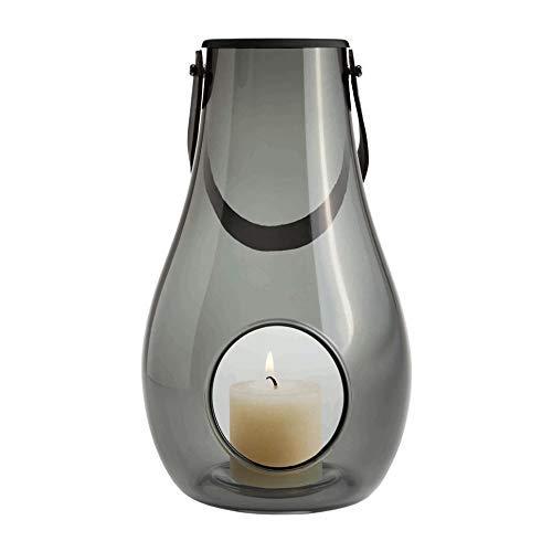 ホルムガード HOLMEGAARD テーブルランタン スモーク DESIGN WITH LIGHT H24.8cm