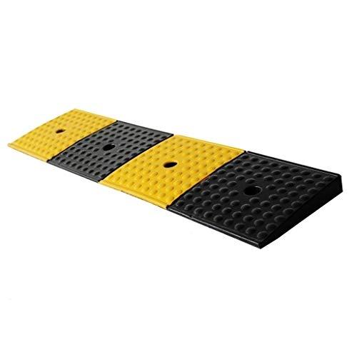 C-J-Xin 4cm Gummi Ramps Pad, Anti-Rutsch-Eindickung Curb Ramps Büro Gehweg Dienst Rampen Fahrrad Rollstuhl Barrierefreie Rampen auffahrrampen (Size : 98 * 22 * 4CM)