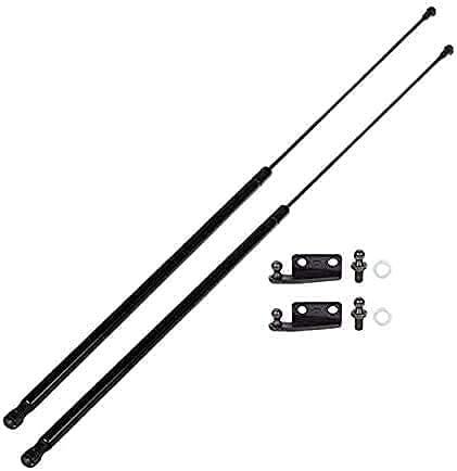 2pcs Puntales de resorte gas maletero puerta trasera Para Mitsubishi Eclipse 1995-1999, Varilla apoyo resorte gas choque coche