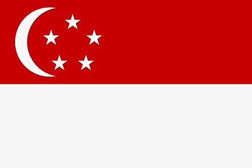U24 Flagge Fahne Singapur 90 x 150 cm