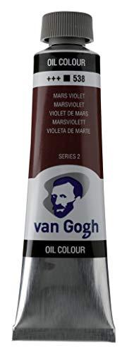 Van Gogh Oil Color Paint, 40ml Tube, Mars Violet 538