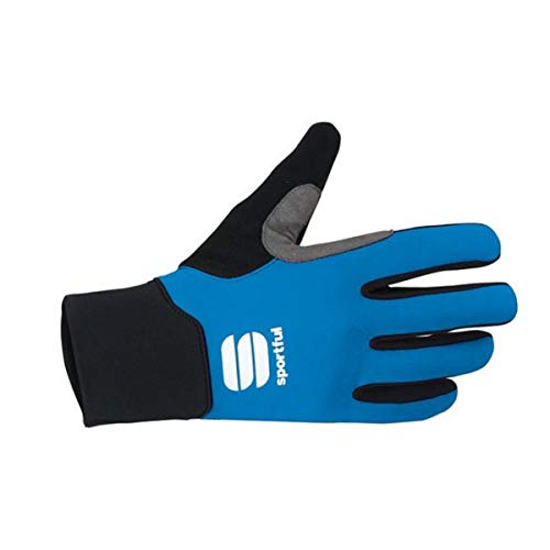 Sportful – Softshell Gloves, Couleur Black Blue, Taille 14Y