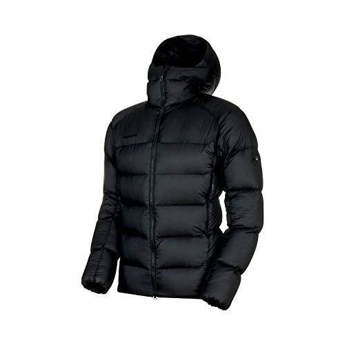 Mammut Herren Chaqueta Meron In Hooded Hombre Jacket, Schwarz/Schwarz, L
