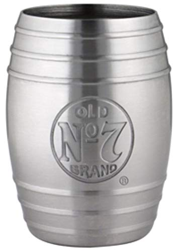 M. CORNELL IMPORTERS 8538 Jack Daniel's Barrel Shot, Logo Bug