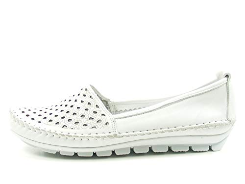 Gemini Damen Slipper 3128-01 001 weiß 461371