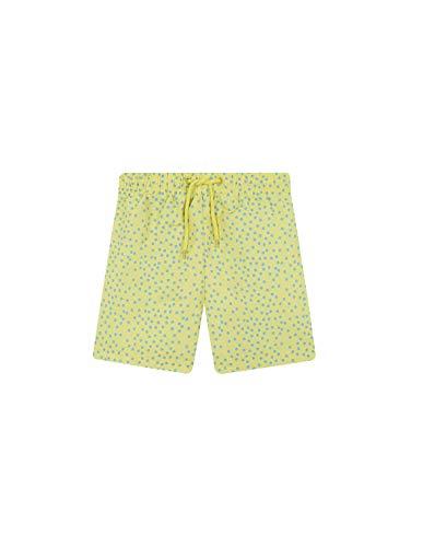 Gocco Boxer Poliamida Lunares Traje de baño de una Pieza, Amarillo Claro YC, 110 (Tamaño del Fabricante:4-5) para Niños