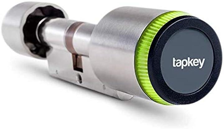 Serratura elettronica per porta | bluetooth & nfc | app per smartphone | made in germany (30/45) tapkey B0894MGFSZ