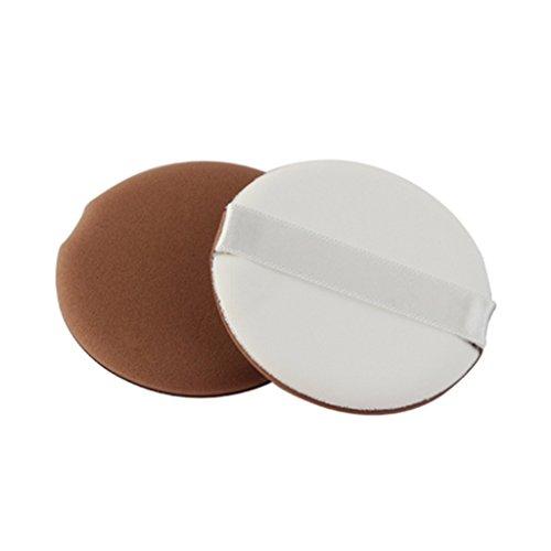 Homyl 8 Pcs Maquillage Blender Puff Eponge Reutilisable pour Fond de Teint Poudre Crème Faciale - Multi