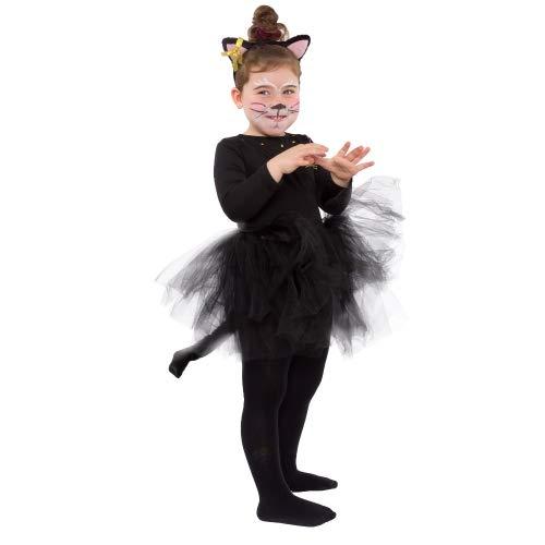 Imaginarium Halloween Kitty 104-110 Disfraz de gatita Halloween (4-5 años)