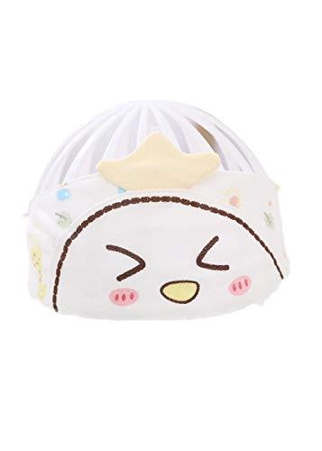 YANHUIGANG Bonnet bébé Casquette en Coton Summer Cute Super Cute Thin cotton-38-43cm_One Size_Chick-Yellow