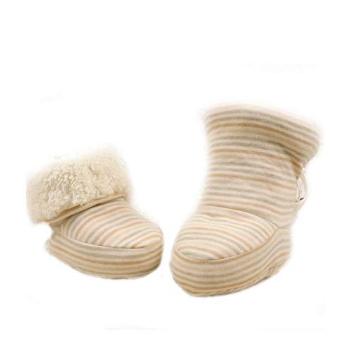 HorBous Zapatillas Cálido Botines de Invierno de Invierno Botas Bebe de Invierno Botas Bebe de Invierno Bolso de Invierno Bebe de 0-12 Meses de Bebe (A)