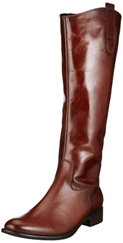 Gabor Shoes Damen Fashion Hohe Stiefel, Braun (Sattel (Effekt) 22), 39 EU
