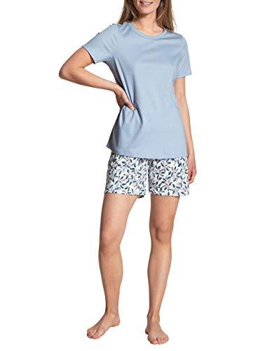 Calida Daylight Dreams Juego de Pijama, Espuma Azul, S para Mujer