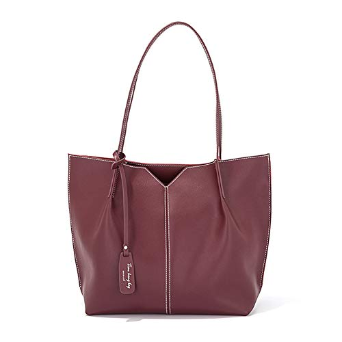 Leren Tote Bag Ladies grote capaciteit schoudertas Casual Handtas Koeienhuid Bag