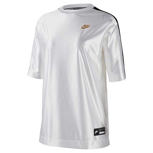 Nike Sportswear Icon Clash Donna Maglia Manica Corta Ci9970-100 - bianco - S