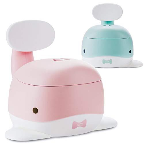 all Kids United Wal Kinder-Töpfchen; Baby Übungstöpfchen; Toiletten-Trainer zum Üben - Kindertopf WC-Kinderaufsatz; Rosa-Pink