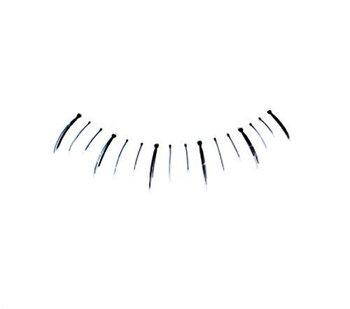 Dorisue False Eyelashes (10 pairs Set) Reusable Makeup Natural Lower Bottom False Eyelashes