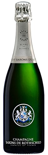 Champagne Barons de Rothschild Blanc de Blancs, 0,75 Liter