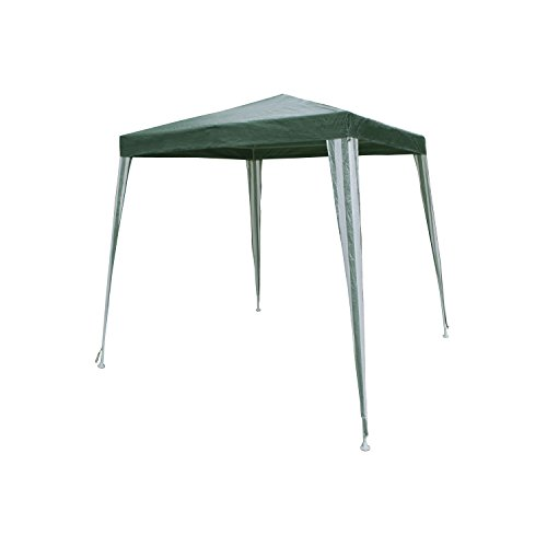ALEKO GZ6.5X6.5GR Popup Gazebo Canopy Patio Coffee Shelter 6.5 x 6.5 Feet Green