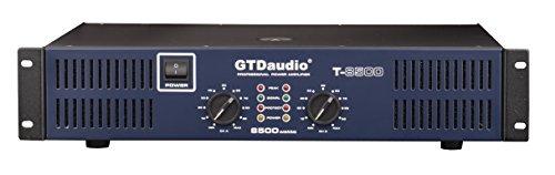 GTD Audio 2 Channel 8500 Watts 2U Stereo Professional Power Amplifier AMP T-8500
