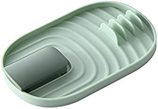 Keuken Lepel Houder Pot Deksel Rack Fork Spatel Rack Shelf Organisator Multifunctionele Home Kitchen Spatula Planken Mat G...