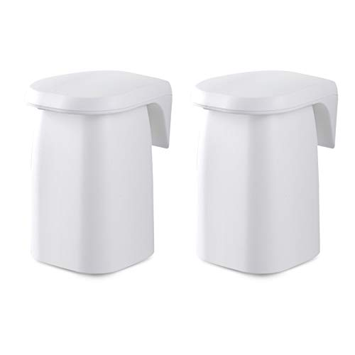 N/F Dzmuero No Drilling Toothpaste Holder,2PCS Suction Cup T