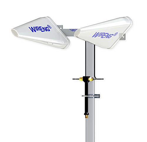 WideAnt2-5G-DATA 5G Dual Antenna for 3G 4G 5G Boosters High-Gain Ultra-Wide Band ±45° Polarizations 24K Gold Plated Connectors