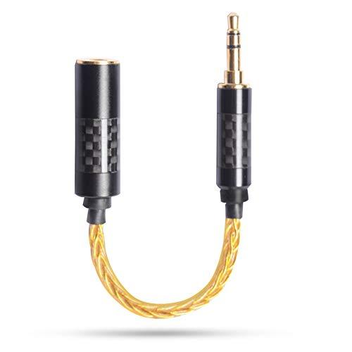 OKCSC TXM3F4 Convertidor de auriculares, cobre libre de oxígeno de alta pureza...