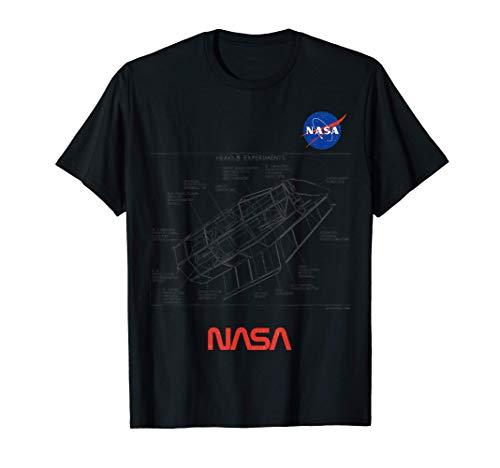 NASA Obsequio de Diseño vintage Observatorio de Astronomía Camiseta