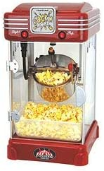 Popper 2.5-oz Hot At Large-scale sale the price Oil Popcorn Machine Metal Stainles Red Plastic