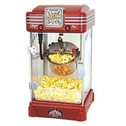 New Popper 2.5-oz Hot Oil Popcorn Machine Red Metal Plastic Stainless Steel