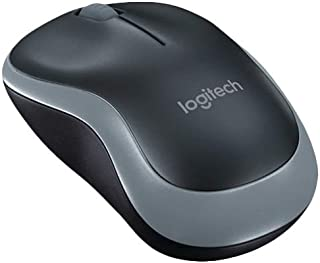 Logitech 910-002235 M185 Wireless Mouse - Black