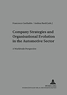 Company Strategies and Organisational Evolution in the Automotive Sector: A Worldwide Perspective