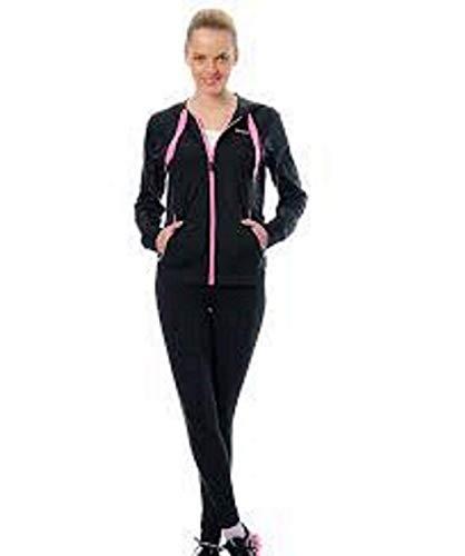 Reebok Trainingspak Running TS UA Suit .Nera/Rosa.Mis. S.